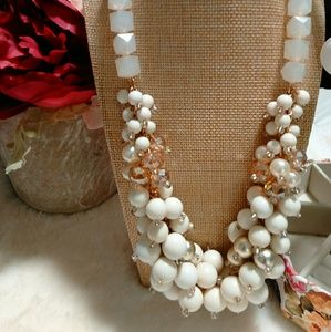 Jewelry - Statement Necklace of multiple style beads